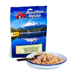 Mountain House scrambled eggs, Mountain House