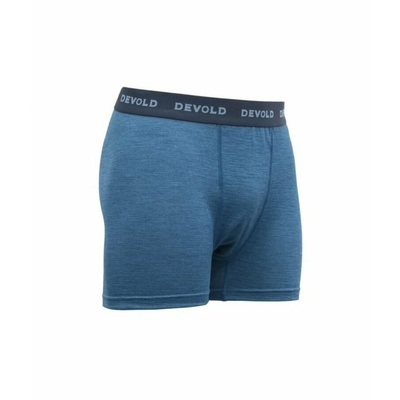 Men's lightweight comfortable wool boxer shorts Devold Breeze GO 181 145 A 258A, blue, Devold