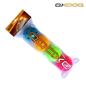 Set floorball balls Oxdog Rotor Ball Color Tube, Oxdog