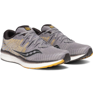 Men running boots Saucony Liberty Iso 2 Gry / Yel, Saucony