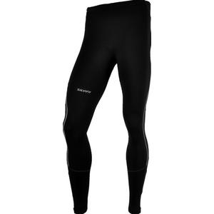 Men elastic insulated pants Silvini Movenza MP336 black, Silvini