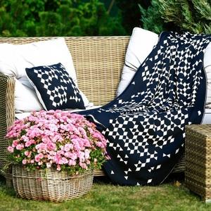 Knitted Merino blanket Kama QQ4070 108, Kama