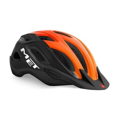 Helmet MET Crossover black / orange, Met