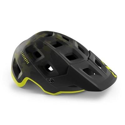 Helmet MET Terranova Camo lime / green, Met
