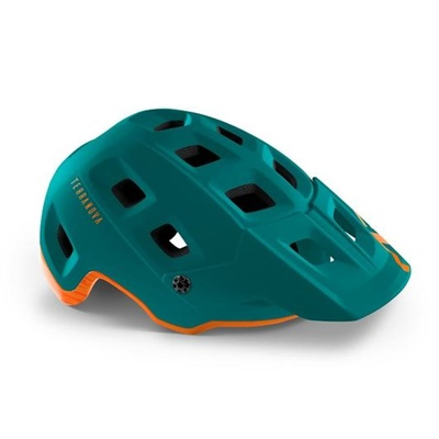 Helmet MET Terranova alpine green / orange, Met