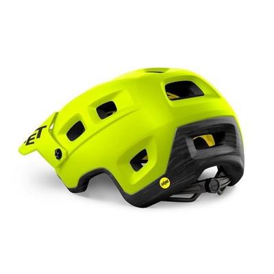 Helmet MET Terranova Mips lime green, Met