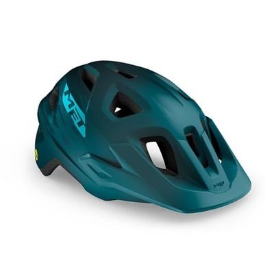 Helmet MET Echo mips petrol blue, Met