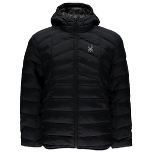 Jacket Spyder Men `s Geared HOODY Synthetic Down 415016-001, Spyder