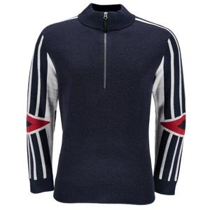 Sweater Spyder Men `s Rad Pad Vintage Half Zipper 417112-402, Spyder