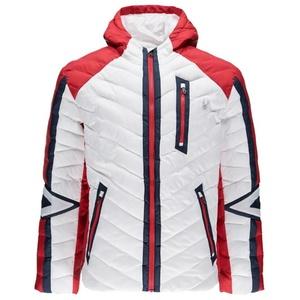 Jacket Spyder Men `s Vintage Hoody Synthetic Down 417116-100, Spyder
