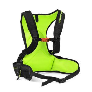 Backpack Spokey SPRINTER 5l black / green, Spokey