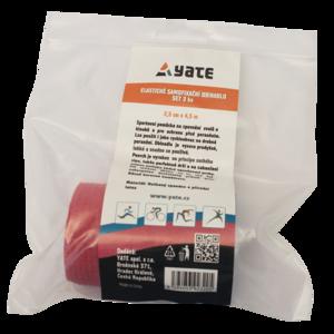 Elastic self-locking obinadlo Yate set 3 pc (2,5 cm x 4,5 m), Yate