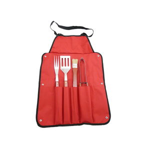 BBQ apron Lucifer with utensils, Lucifer