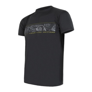 Men shirt Sensor PT Coolmax Fresh GPS black 11101018, Sensor
