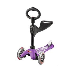 Scooter Mini Micro Deluxe 3v1 Purple, Micro