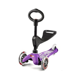 Scooter Mini Micro Deluxe 3v1 Purple, Micro