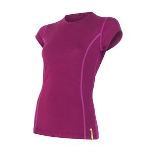 Women shirt Sensor Merino Wool Active lila 12110024, Sensor
