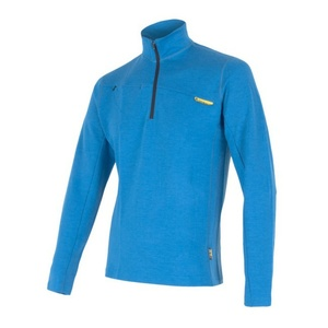 Men hoodie Sensor Merino Wool Upper blue 12110043, Sensor