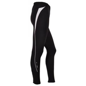 Women long running pants Silvini Savuto WP390 black, Silvini
