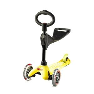 Scooter Mini micro Deluxe 3v1 Yellow, Micro