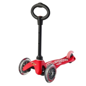 Scooter Mini Micro Deluxe 3v1 Red, Micro