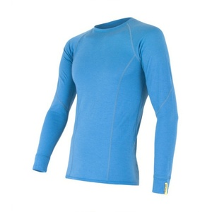 Men shirt Sensor Merino Wool Active blue 12110020, Sensor