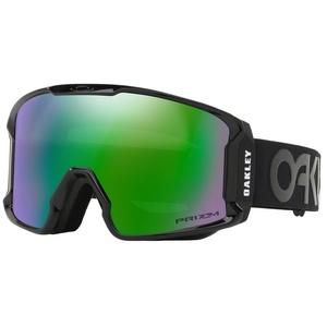 Ski glasses Oakley LM XM FP Blackout w / prizm Jade Irid OO7093-12, Oakley