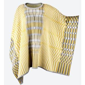 Knitted Merino plaid Kama 5017 101, Kama