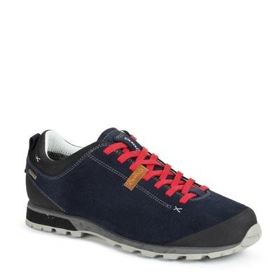 Men boots AKU Bellamont Suede GTX tm. blue / red, AKU