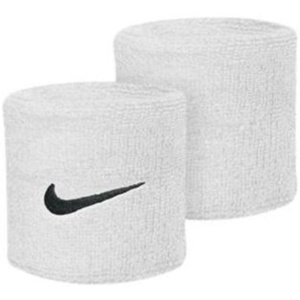 Sweat band Nike Swoosh Wristband white, Nike