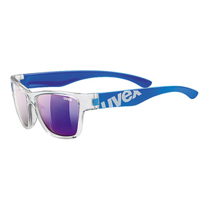 Sun glasses Uvex Sportstyle 508 Clear Blue / Mirror Blue (9416), Uvex