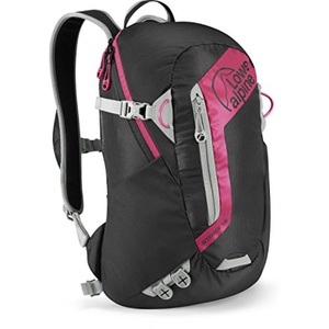 Backpack Lowe alpine Strike 12 Black / magenta, Lowe alpine