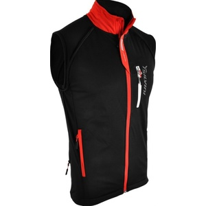 Men softshell jacket Silvini Mutta MJ426 black-red, Silvini