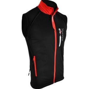 Men softshell jacket Silvini Mutta MJ426 black-red, Silvini