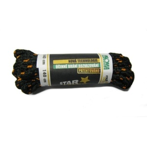 Laces STAR LACES SLIM 140cm, STAR LACES