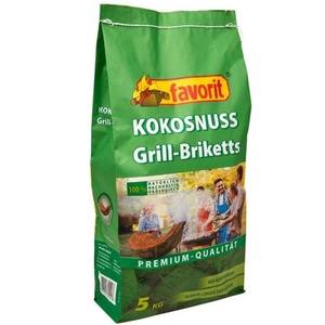 BBQ briquettes coconut FAVORIT 5 kg 5550AL, Favorit