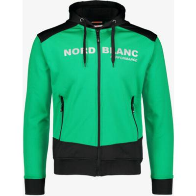 Men sports hoodie Nordblanc with hood NBSMS5615_ZLN, Nordblanc