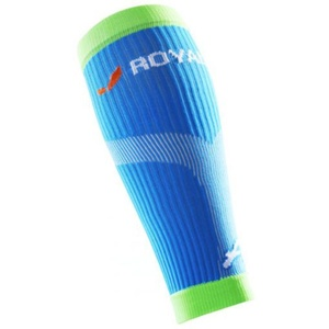 Compression calf covers ROYAL BAY® Neon Blue 5699, ROYAL BAY®