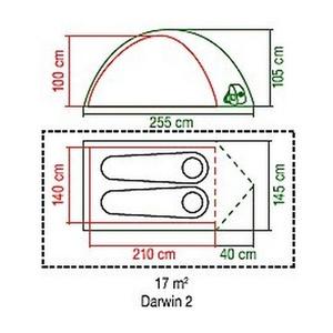 Tent Coleman Darwin 2, Coleman