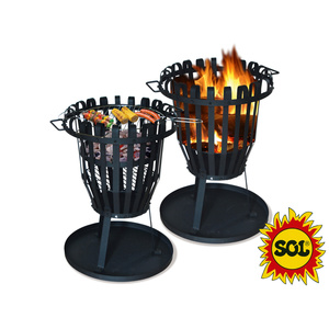 Round fireplace SOL basket 50 cm, Lucifer