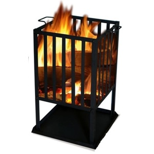 square fireplace SOL basket 45x45 cm, Lucifer