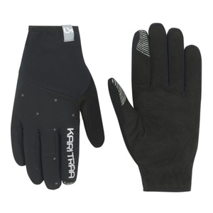 Women gloves Kari Traa Eva Black / Dark Grey, Kari Traa