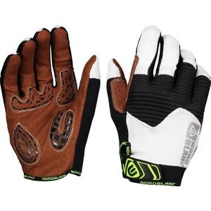 Men cycling gloves NORDBLANC Breach NBWG6363_BLA, Nordblanc