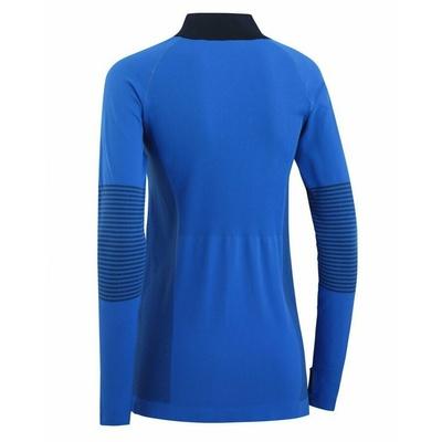 Women sports shirt with long sleeve Kari Traa Sofia 622041, blue, Kari Traa