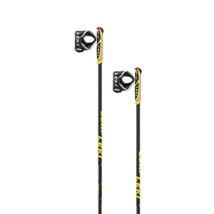 Running sticks Leki PRC 850 black / anthracite / white / yellow 6434040, Leki