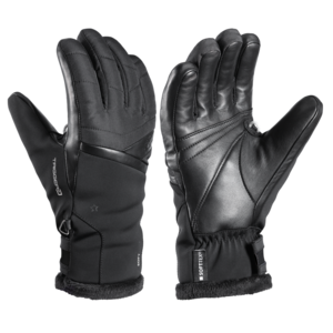 Ski gloves LEKI Snowfox 3D Lady black, Leki