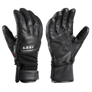 Ski gloves LEKI Lightning 3D black, Leki