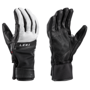 Ski gloves LEKI Lightning 3D black / white, Leki