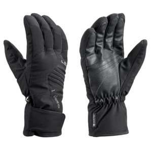 Ski gloves LEKI Spox GTX black, Leki