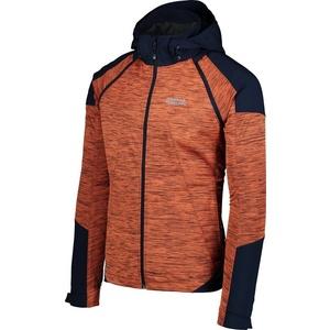 Men lightweight softshell jacket 2v1 NORDBLANC Breezy NBSSM6607_THE, Nordblanc